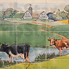 Tribune-Star/Jim Avelis<br /> Moo: A farm scene is part of the art in a back room of The Verve nightclub, a building owned by Todd Nation.