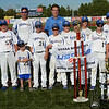 Tribune-Star/Jim Avelis<br /> Champs: The Havoc baseball team won the USSSA Baseball World Series recently and was honored before the Rex-Dubois baseball game Thursday evening.