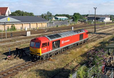 60011 Eastleigh 29/07/12