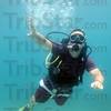 Photo: J. R. Simma is shown scuba diving in Cancun, Mexico during their recent trip that ended on a down note.
