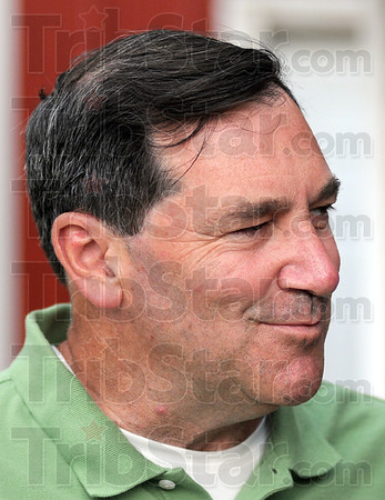 Joe: Joe Donnelly talks with Tribune-Star reporter Brian Boyce while attending the Vigo County Fair.