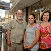 Tribune-Star/Joseph C. Garza<br /> Family run family fun: George and Cathy Azar run the Saratoga Restaurant with daughter, Alexis Green, center. The trio are celebrating the restaurant's 70th anniversary with a different event each month.