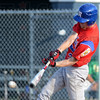Tribune-Star/Jim Avelis<br /> Leadoff: Kodie Girton started the game with a hit for Post 346.
