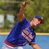 Tribune-Star/Jim Avelis<br /> Over the top: Jimmy Maxwell, spotted to an early lead, held Seymour Post 89 in check in their American Legion Regional contest Friday afternoon.