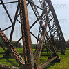 Tribune-Star/Jim Avelis<br /> Weighty matter: Over 2,500 tons of steel were used in creating the Tulip Trestle. It carries the railroad 157 feet over the Richland Creek valley floor and is over 2,200 feet long.