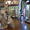 Tribune-Star/Joseph C. Garza<br /> An array of displays: Throughout the years, various exhibits have been displayed at the Vigo County Historical Museum which featured the history of Terre Haute. Recently, a wedding gown exhibit was featured.