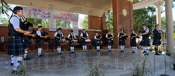 Pipes: The Pipes and Drums of the Fountain Trust perform Saturday afternoon at Fairbanks Park.