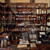 Tribune-Star/Joseph C. Garza<br /> How it was: A work area that once belonged to druggist Edward Hampton is on display at the Vigo County Historical Museum. Hampton's drug store was located at 4th and Ohio Streets.