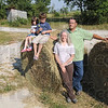 Homestead: Sullivan County residents Ben and Monica Poehlein and their two children, Veronica (4) and Luke (5) are recipients of the Hoosier Homestead Farm award. The shed in background is original to the property.