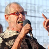 "Original: Seventy-two-year-old Jimmie Carsey rocks the crowd with an original song during Wednesday's ""Vocalist"" competition at the Vigo County Fair. Jimmie finished as runner-up in the event."