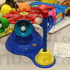 Tribune-Star/Joseph C. Garza<br /> Ring around fun: One of the toys donated to United Cerebral Palsy of the Wabash Valley is the Ring Around Bells which encourages listening and grasping skills while increasing eye-hand coordination.