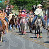 Tribune-Star/Jim Avelis<br /> Variety: Horses and their riders were the main attraction of the Frontier Day parade Tuesday morning
