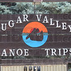Sugar Valley: Detail photo of Sugar Valley sign.