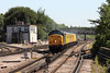 23 July 2012 :: 37604 leading 1Q13 Derby to Eastleigh towards Basingstoke station