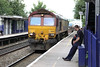 17 July 2012 :: 66013 with 4O53 Wakefield to Southampton at Reading West