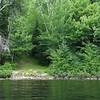 start of portage from Mink Lake to Cauchon Lake