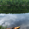 Cauchon Lake from campsite