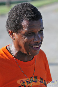 Former Detroit Eastern High School track and field legend Lou Scott. Scott was a two time MHSAA Class A State Mile Champion, Silver Medalist in the 5000 at the 1967 Pan American Games and competed at the 1968 Olympic Games.