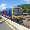 First Capital Connect Class 365 Networker no. 365523 stands at Sandy.