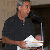 Tribune-Star/Jim Avelis<br /> Bacckers: Bruce Adelman, owner of Bohanan's east brought signatures with him tot eh Terre haute City council meeting Thursday night. Well over 3,000 names were in the two manila folders he brought.