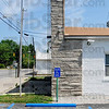 Tribune-Star/Joseph C. Garza<br /> Soon to be more accessible: The Seelyville Town Hall has a handicap parking space but new funds will be used to make modifications that include a handicap accessible entryway and ramp.