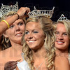 Crowning: Kyla Lindsay gets crowned during Thursday's Miss Vigo County Fair Queen Pageant.
