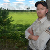 Tribune-Star/Jim Avelis<br /> Overseer: Mark Huter is the assistant property manager at the Wabashiki Fish and Wildlife Area just east of West Terre Haute.