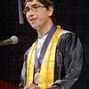 THNorth valedictorian Wesley Cornwell