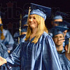 Award: McLean High School graduate Amber Lynn Quintaine received the John Orr Scholarship during Commencement exercises at the South auditorium.