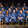 Thoughts: McLean teacher of the year Mr. Schuster reflects on the past school year with graduating seniors of the alternative school Friday evening.