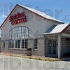 "Tribune-Star/Joseph C. Garza<br /> On hold: The re-opening of the Golden Corral at 10 W. Johnson Drive is, according to a company official, ""on hold."""