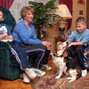 Tribune-Star file/Jim Avelis<br /> Long ago: Denise Butts(Story) with her sons Andrew and Austin in 2004.