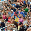 Crowd: A nice crowd turned out to watch the Rex play the Quincy Gems Saturday evening at Bob Warn Field.