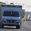 Tribune-Star/Jim Avelis<br /> Deadly day: An ambulance heads away from an accident on I-70 about 8:00p.m. Tuesday evening. The accident, at about the 17 mile marker, was just one of several along the Interstate Tuesday.