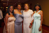 Nina Washington, Rosalyn Smith, Terri Gentry, and Karen Norman.  The 61st Annual Owl Club of Denver Debutante Cotillion at the Denver Marriott City Center near Denver, Colorado, on Saturday, June 2, 2012.<br /> Photo Steve Peterson