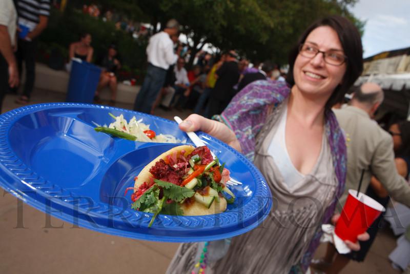 Hot Rocks Griller Challenge, benefiting Denver Health Foundation, at Elway's restaurant, Cherry Creek, in Denver, Colorado, on Wednesday, June 13, 2012.<br /> Photo Steve Peterson