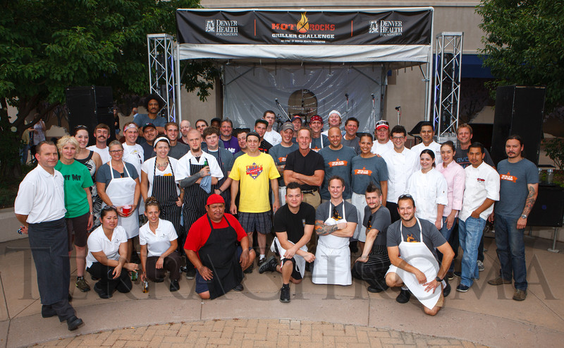 Hot Rocks Griller Challenge, benefiting Denver Health Foundation, at Elway's restaurant, Cherry Creek, in Denver, Colorado, on Wednesday, June 13, 2012.<br /> Photo Steve Peterson