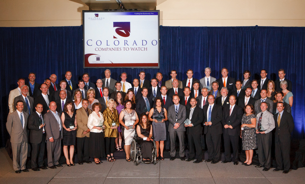 Colorado Companies to Watch gala at the Denver Marriott City Center in Denver, Colorado, on Friday, June 22, 2012.<br /> Photo Steve Peterson