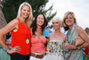 Gwyn Inglis, Jessica Schmucker, Susan Rawley, and Diedre Wooden.  Janet's Camp, benefiting the YMCA of Metropolitan Denver, at the home of Steve and Nikki Lockton in Englewood, Colorado, on Saturday, June 23, 2012.<br /> Photo Steve Peterson