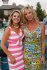 Jane Buckley and Janet Elway.  Janet's Camp, benefiting the YMCA of Metropolitan Denver, at the home of Steve and Nikki Lockton in Englewood, Colorado, on Saturday, June 23, 2012.<br /> Photo Steve Peterson