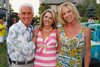 David Alexander, Jane Buckley, and Janet Elway.  Janet's Camp, benefiting the YMCA of Metropolitan Denver, at the home of Steve and Nikki Lockton in Englewood, Colorado, on Saturday, June 23, 2012.<br /> Photo Steve Peterson