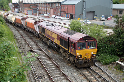 66103 1535/6H23 Hindlow-Tunstead approaches Great Rocks Jct.