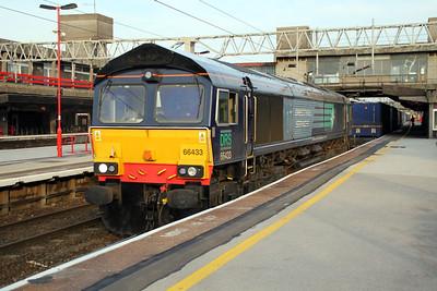 66433 1948/4s45 Daventry-Mossend passes Stafford.