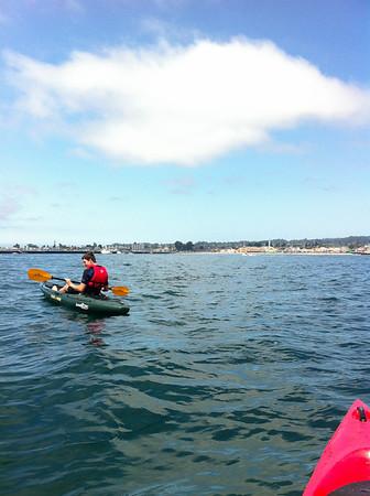 Kayaking In Santa Cruz