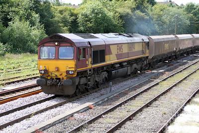 66094 1337/6E91 Hunterston-West Burton passes Knottingley 19/06/12