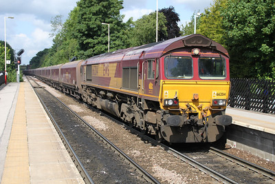 66204 1022 East to Drax passes Knottingley 19/06/12
