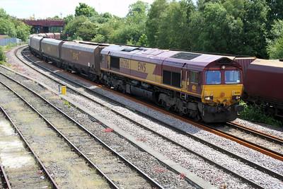 66206 1203/4n17 West Burton-North Blyth passes Knottingley 19/06/12