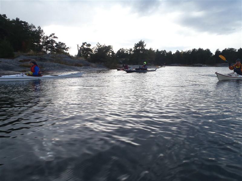 Höst sjön paddling sämre kan man ha det..