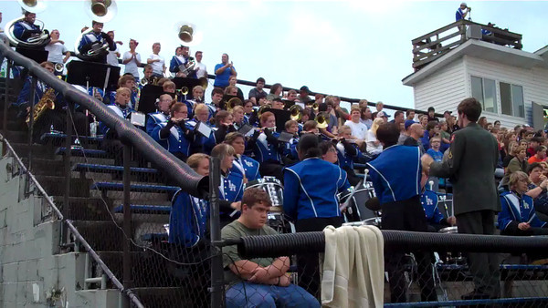 08-17-2012 LA Band plays at LA vs Stone Memorial Videos