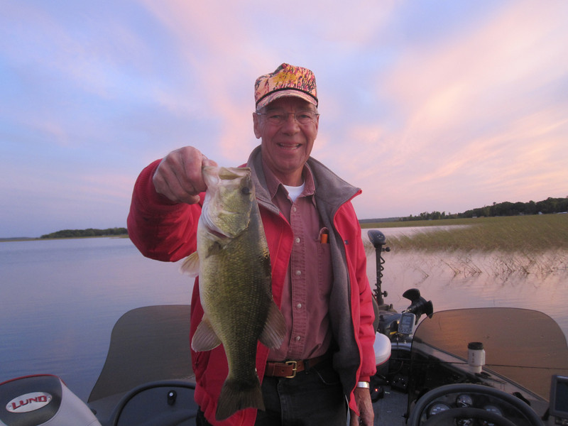 JUST ONE OF DOUG'S MANY BASS